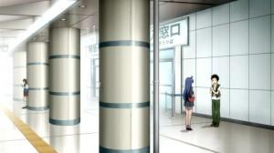 地下鉄駅?