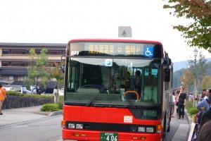 湯乃鷺温泉行バス
