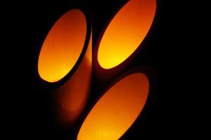 竹原街灯り
